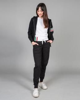 Pantaloni in felpa made in Italy Capri