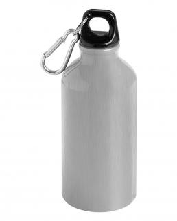 Borraccia in alluminio con moschettone Drink 400 ml
