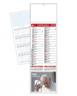 Silhouette Papa Francesco Trimensile 12 fogli