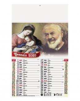 Calendario San Pio 12 fogli