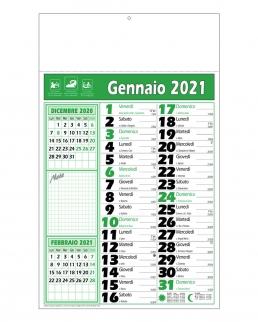 Calendario olandese note