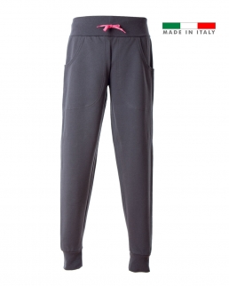 Pantaloni in felpa made in Italy Bergamo Lady