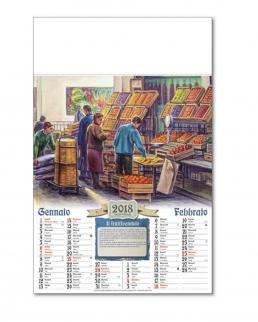 Calendario Antichi Mestieri Bimensile 6 fogli