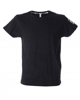 T-shirt uomo girocollo effetto fiammato Fortaleza man