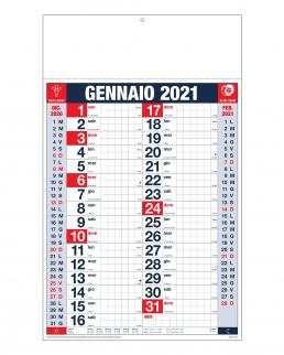 Calendario olandese quadrettato