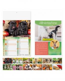 Calendario mensile Cani e Gatti