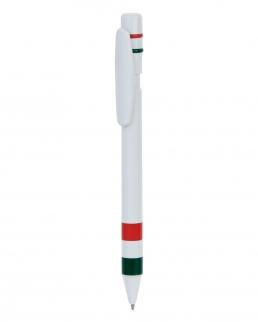 Penna a sfera con bandiera italiana