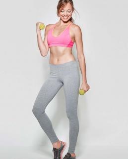 Pantalone donna lungo con cintura elastica