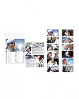 Calendario mensile Madre Teresa