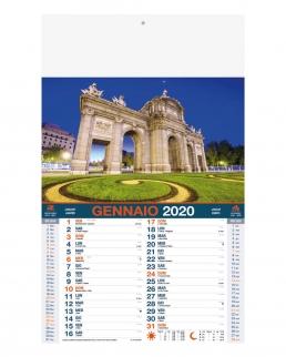 Calendario mensile Città del mondo