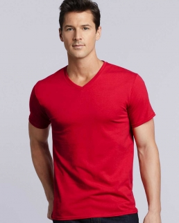 T-shirt scollo a V Premium Cotton