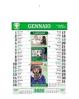 Calendario Farmacia 12 fogli