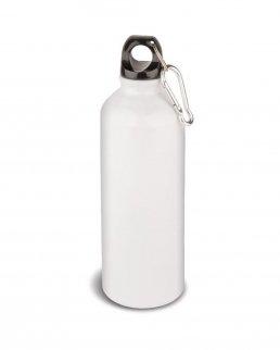 Borraccia bianca in alluminio 500 ml