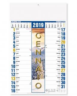 Calendario mensile 4 Stagioni
