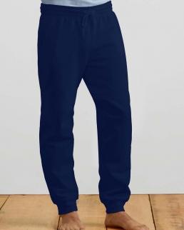 Pantaloni Heavy Blend con orlo a costine