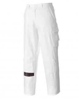 Pantaloni da imbianchino con elastico sul retro