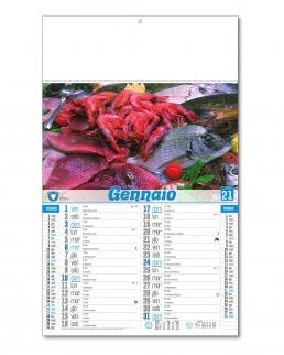 Calendario Pesce Crudo