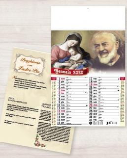 Calendario olandese illustrato San Pio