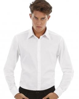 Camicia uomo Stretch maniche lunghe