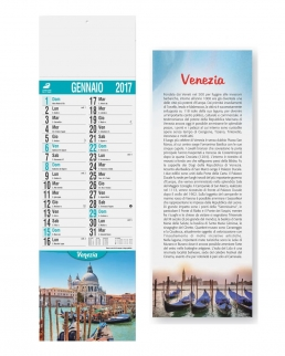 Calendario Silhouette Città d'Italia
