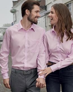Camicia Longsleeve Micro-Twill Uomo