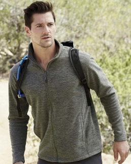 Giacca Active Melange Fleece