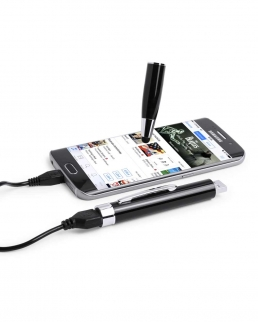 Penna Puntatore touch power bank