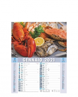 Calendario Mare in Tavola