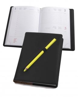 Agenda giornaliera completa di matita