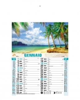 Calendario Travel 12 fogli