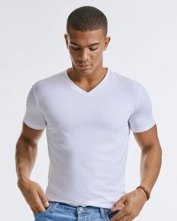 T-shirt uomo scollo a V Pure Organic