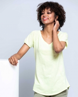 T-SHIRT urban slub lady