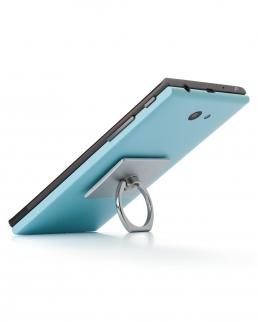 Supporto per smartphone con autoadesivo