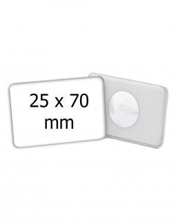 Magnete rettangolare 25