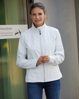 Giacca donna in softshell