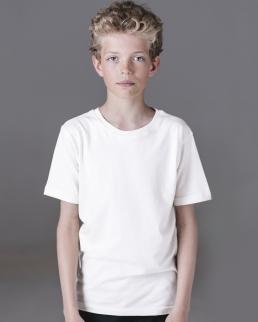 T-shirt bambino in cotone organico