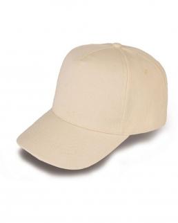 Cappellino golf 5 pannelli in cotone organico