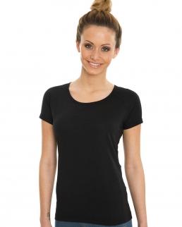 T-shirt Viscosa-Cotone Maniche Raglan arrotolate
