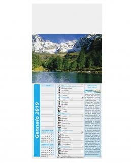 Calendario Mignon Paesaggi 12 fogli