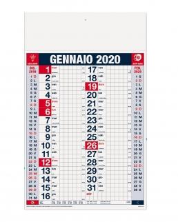 Calendario Olandese a Quadri 12 fogli