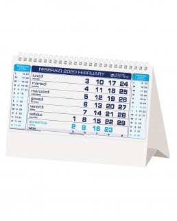 Calendario da tavolo Basic