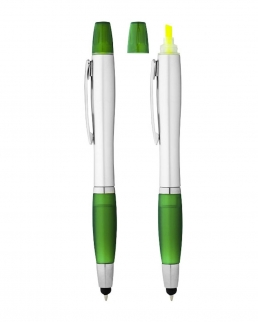 Penna a sfera, pennino ed evidenziatore Nash