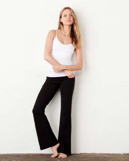 Pantaloni donna Fitness cotton spandex