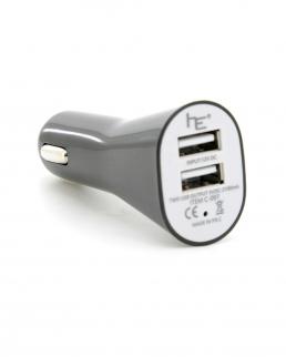 Caricatore auto doippia USB