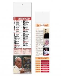 Calendario Silhouette Papa Francesco