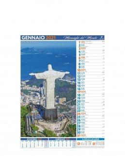 Calendario Città e meraviglie del mondo