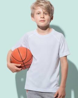 T-shirt sport traspirante per bambini