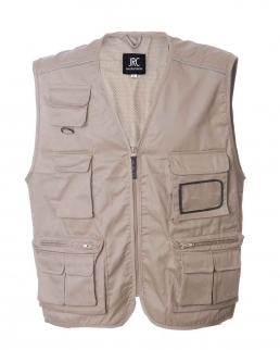Gilet in Cotone e Poliestere New Safari
