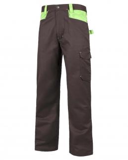 Pantalone multitasche con rinforzo sul retro