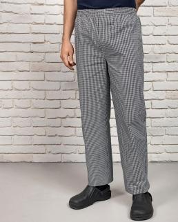 Pantaloni da chef in tessuto easy care